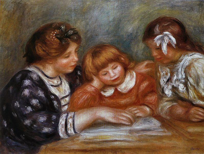 796px-Pierre-Auguste_Renoir_-_La_Leçon
