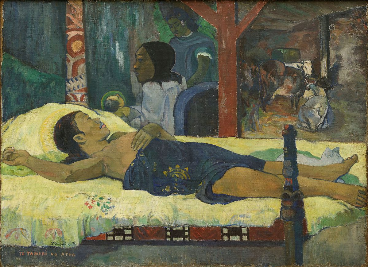 The_Birth_-_Te_tamari_no_atua_Paul_Gauguin_1896 sommeil