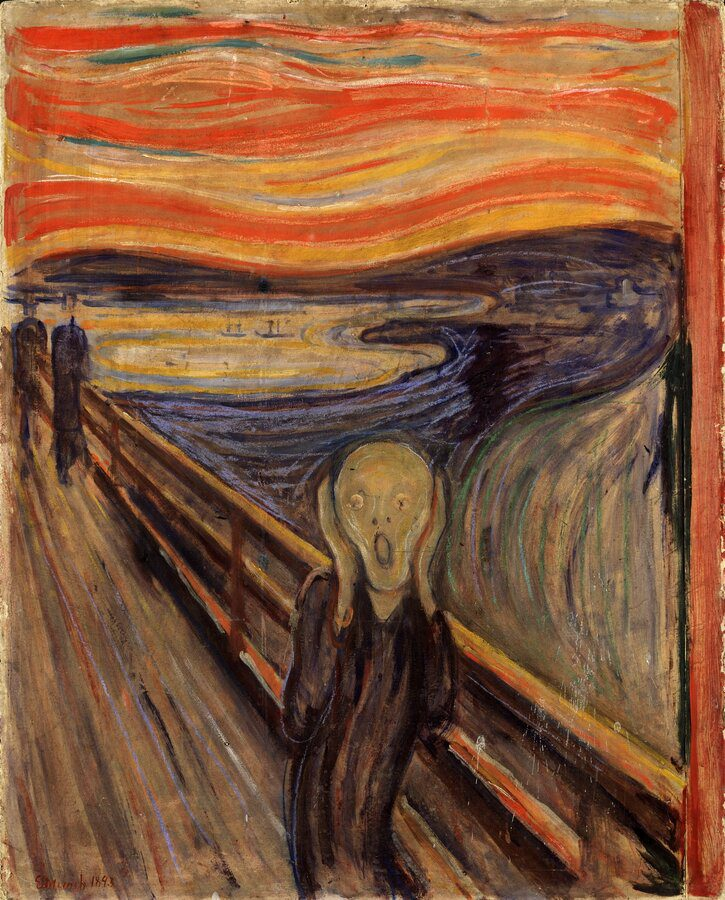 The_Scream_by_Edvard_Munch,_1893_-_Nasjonalgalleriet Douleur